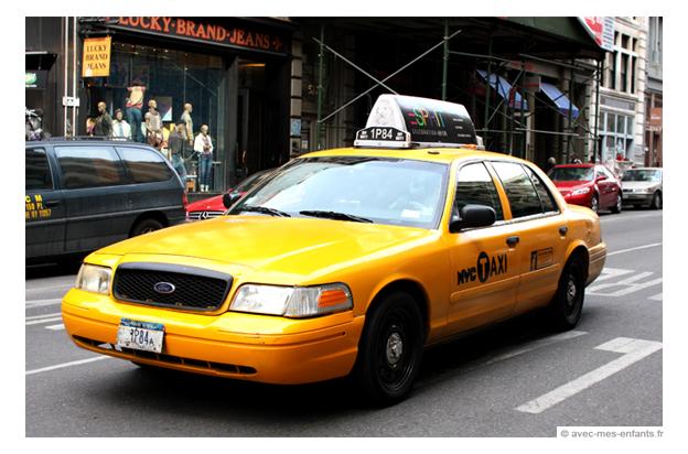 New york avec enfants voyage taxi