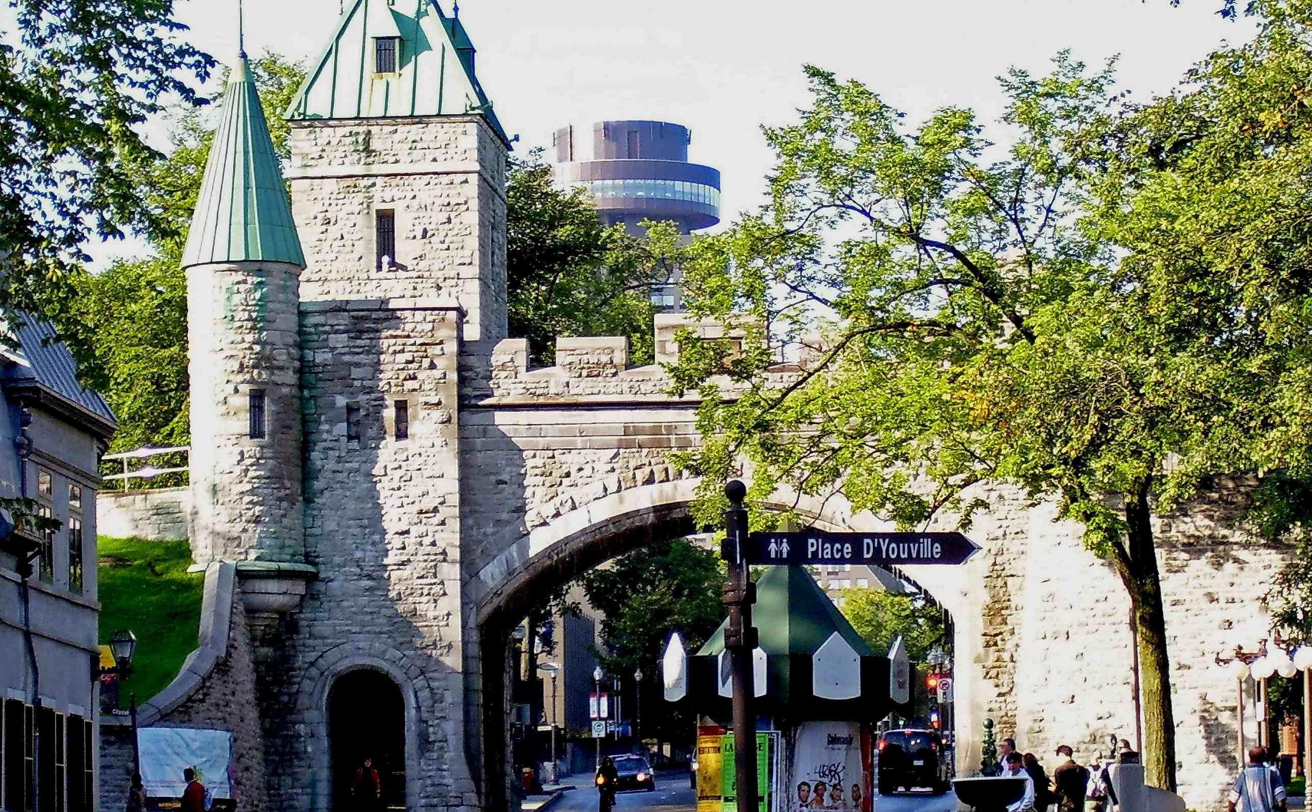 Quebec en famille qu bec avec les enfants avec mes enfants for Porte st louis