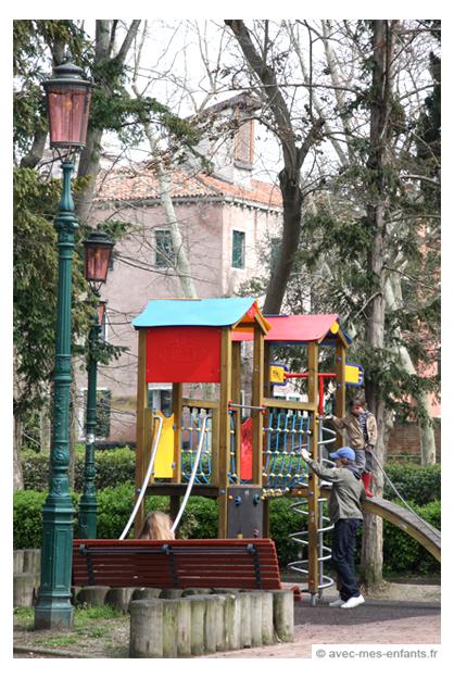 Venise en famille venise avec les enfants avec mes enfants for Giardini a venise