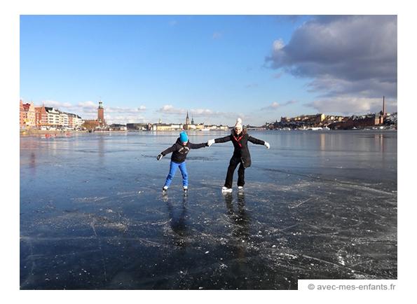 Stockholm Avec Des Enfants