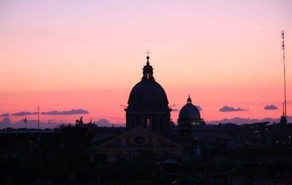 rome-en-famille-coucher-de-soleil