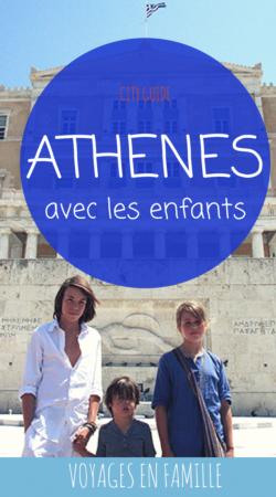 Athènes en famille, guide pratique