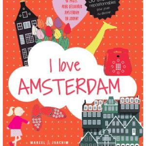 I Love Amsterdam Autocollants Enfants