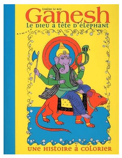 Ganesh Le Dieu à Tête D'éléphant