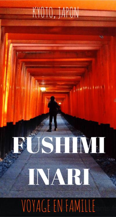 Visiter le sanctuaire de Fushimi Inari à Kyoto avec des enfants