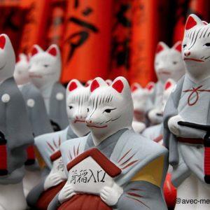 Fushimi-inari-kyoto-en-famille-renards-kami