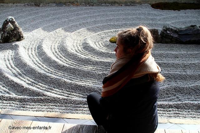 Kyoto-en-famille-jardin-sec-zen-temple-zuiho-in