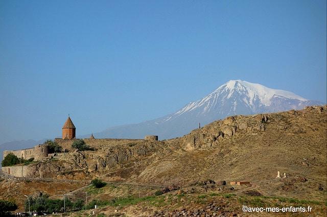 Armenie-en-famille-Khor-Virap-mont-Ararat
