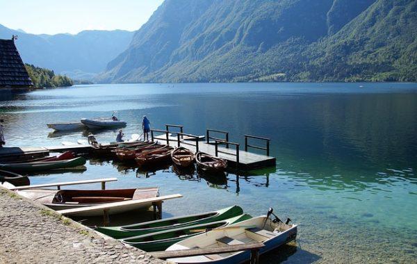 slovenie-en-famille-lac-bohinj-barques