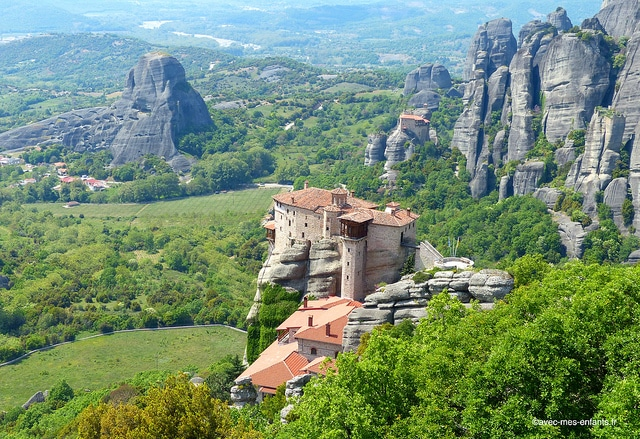 Grece-en-famille-meteores-monastere-vue