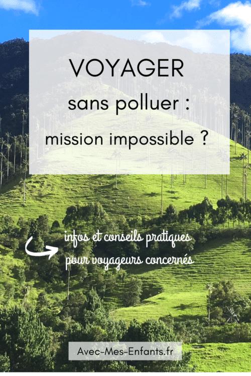 Voyager-sans-pollluer