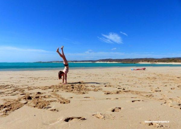 australie-en-famille-cape-range-national-park-plage