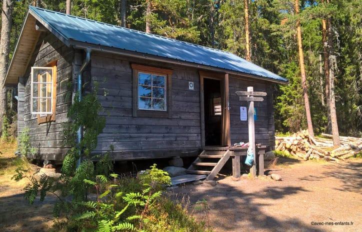 suede en famille haute cote dormir parc national skuleskogen