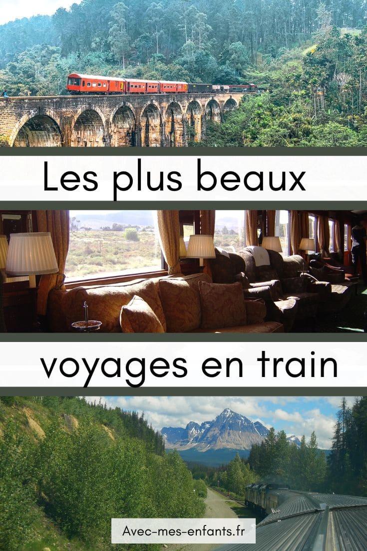 Blog voyage plus beaux voyages en train
