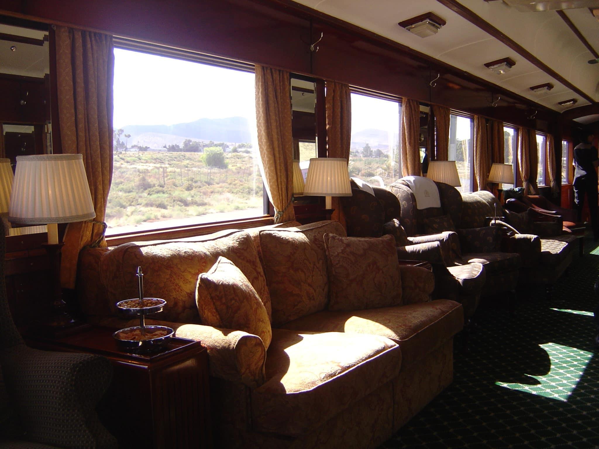 train en Afrique du sud Rovos