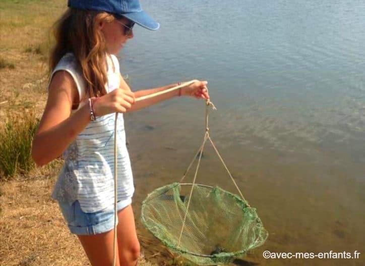 activites pour enfants arcachon pêche au crabe