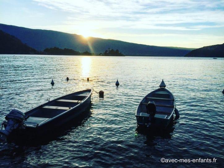 lac d'annecy en famille