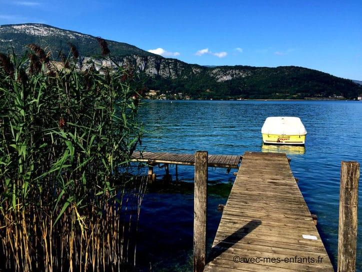 lac d'annecy castors réserve du bout du lac