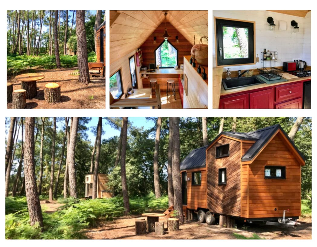 glamping en famille ecolodge tiny stay
