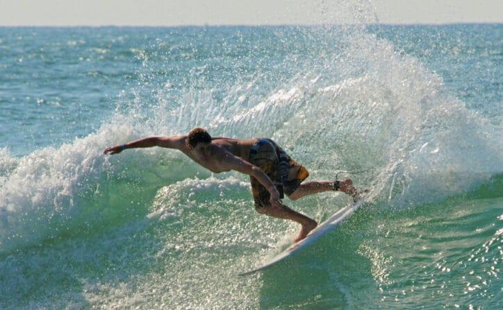 landes avec ados surf hossegor